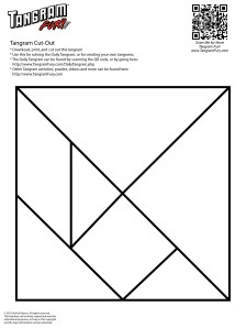 Print-and-Cut-Tangram